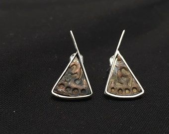 Antique Hardware Post Earrings