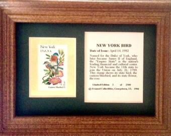 New York State Bird & Flower