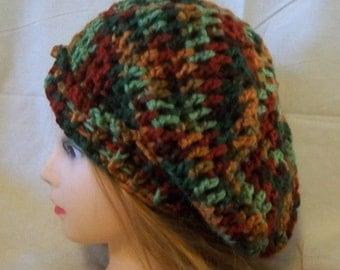Slouch Hat - Hand Crochet