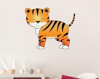 Tigers Kids Wall Decal Sticker PC0310