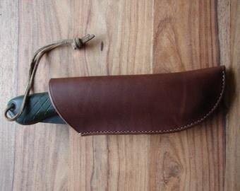 Leather Bahco Laplander folding saw sheath