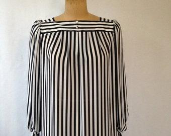1980s striped mumu