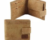 Men's Cork wallet Slimfold eco-friendly and 100% Vegan