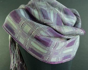 Doubleweave shawl