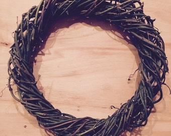 """Plain 16"""" - Vine Wreath"""