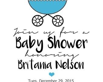 Classic Baby Shower