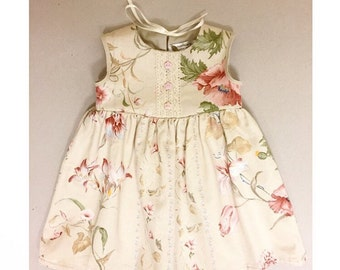 Limited Edition baby girl dress is pretty floral