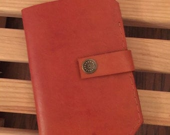 Passport Wallet with room for ticket and 2 credit cards