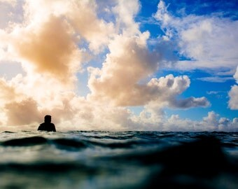 The Sunset Shift - Ocean Photo Fine Art Hahnemühle Print - art prints, home decor, wall art, wall decor, digital prints.