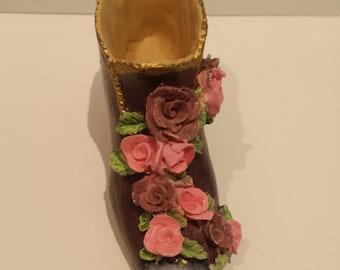 Pink Flower 3D Shoe
