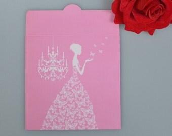 pink, cd envelope paper , envelopes cd , white cd sleeve