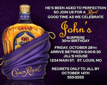 Crown Royal Birthday