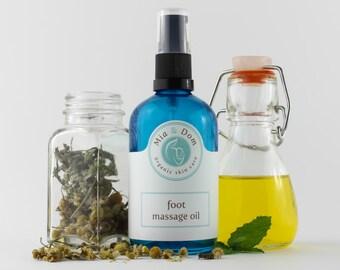 Organic Foot Massage Oil
