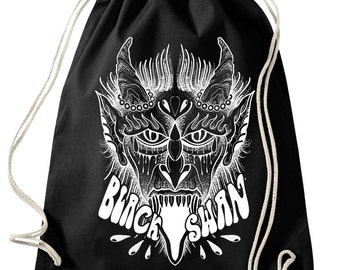 Black Swan Tattoo - Gym Bag/Turnbeutel Devil