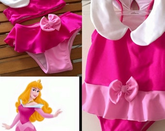 Sleeping beauty Aurora swimsuit