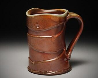 Wood Fired Ceramic Mug 4007