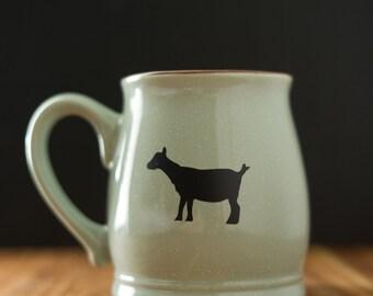 Goat Coffee Mug // Farmstead // Coffee Mug // Handmade //