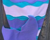 Fleece Mermaid Tail Blanket