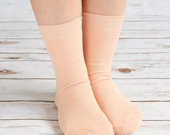 Hemp Pink Women Socks