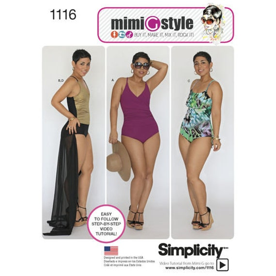 Simplicity 1116 BB US Size 20W 28W Sewing Pattern New