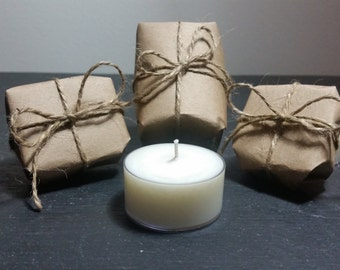 Soy Tea Light Candles - 3 pack