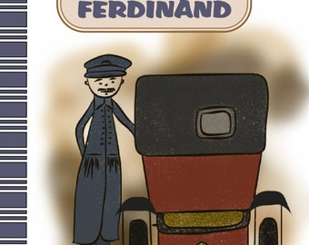 'The taxi of Ferdinand' children's book illustrated/novel
