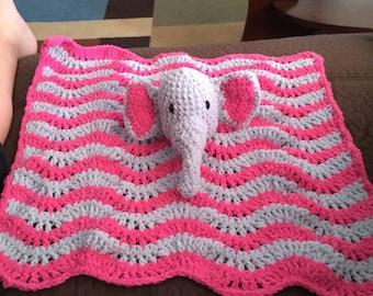 Elephant cuddle blanket