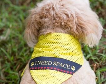 I need space dog bandana