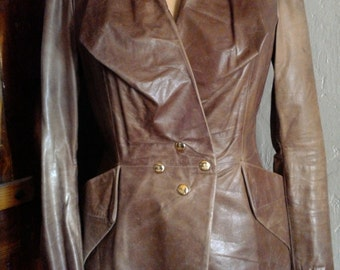 Vintage Vivienne Westwood Leather Jacket