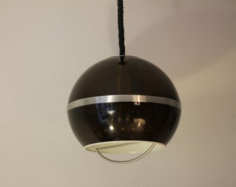 Vintage pendant lamp Dijkstra dutch design 60s 70s 1960s 1970s retro space age