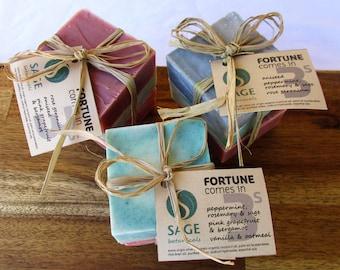 Pure Essential Oils Soap Trio - Fortune comes in 3s