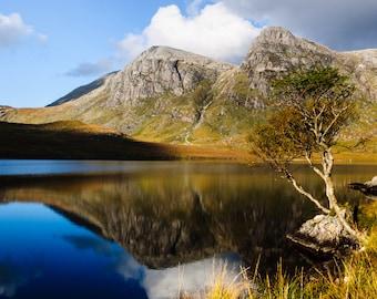 Fisherfield, Scottish Highlands Landscape Photo