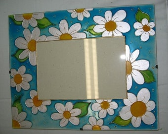 Hand painted picture frames.