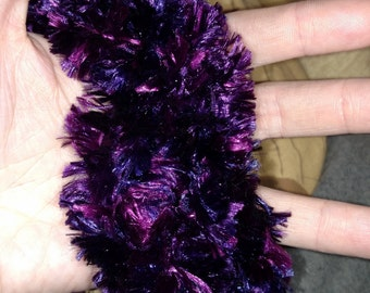 Feather Boa Infinity Scarf