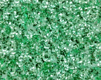 Mint Seaweed Sequin Party Dress Prom Fabric By The Yard Sea Weed Light Green Sea Weed Glitz Costello