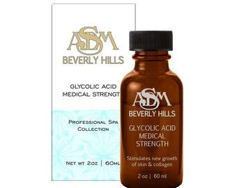 Glycolic Acid Chemical Peel 70% 2oz - Pure, Unbuffered, Cruelty Free