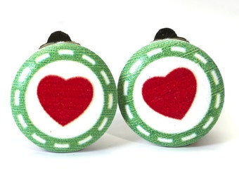 Earrings heart