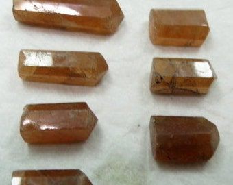 10 Pieces Hessunite Garnet Crystals