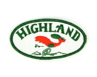 Highland Vintage Patch