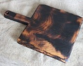 Old Rustic Cutting Board, Wooden Serving Board, Vintage Wood Board, Chopping Board, Bread Board, Cheese Board, Kitchen Decor, Eco Wood