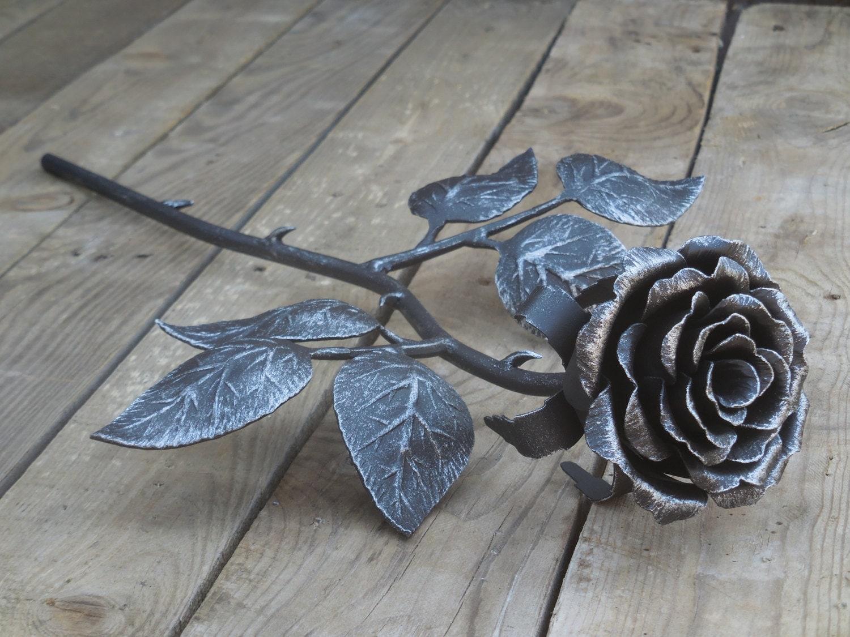 Как сделать розу и ковки фото