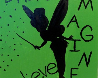 Tinker Bell painting