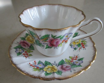 Royal Stafford Valentine Teacup and Saucer
