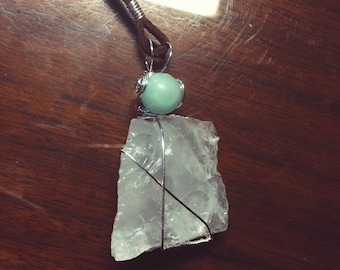 Aventurine & Quartz Necklace