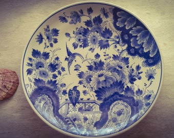 Delft Blue ceramic dish 50