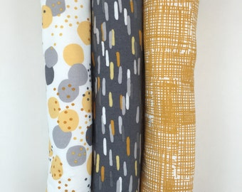 Set of Three Burp Cloths