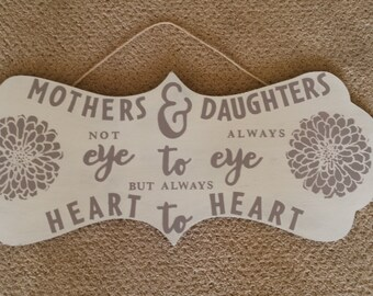 Mothers & Daughters Sign