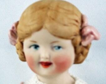 "Antik Repro doll ""Hertwig & Co"", ca. 11,5 cm  (49)"