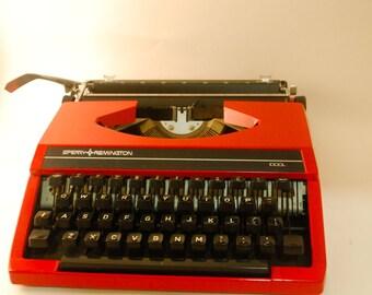 Sperry Remington Idool Typewriter