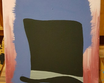 """Painting Titled """"Tophat Splat"""""""
